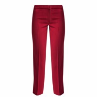 Mybestfriends Boot Cut Trousers Red
