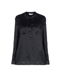 Stefanel Shirts Black