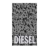 Diesel Living Suburban Graffiti Beach Towel Grey