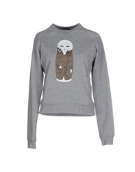 Odi Et Amo Topwear Sweatshirts Women Light Grey