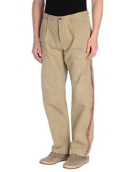 Johnbull Denim Pants Beige