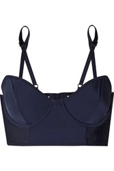 Lonely Harper Stretch Jersey Underwired Bra Navy