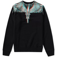 Marcelo Burlon Salvador Crew Sweat Black