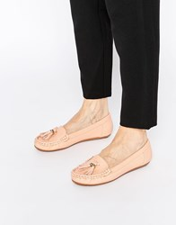 Asos Mock Up Flat Shoes Apricot