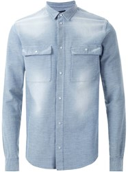 Iro Washed Shirt Blue