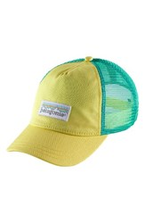 Patagonia Women's Trucker Hat Yellow Yoke Yellow