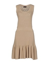 Jo No Fui Dresses Short Dresses Women Sand