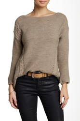 Luma Cable Knit Sweater Beige