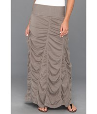 Xcvi Jersey Peasant Skirt Moonbeam Women's Skirt Taupe