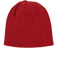 The Elder Statesman Women's Kisser Cashmere Beanie Red