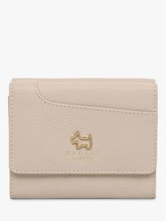 Radley Pockets Leather Small Trifold Purse Light Grey