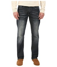 Buffalo David Bitton Driven Straight Leg In Dirty And Blasted Dirty And Blasted Men's Jeans Blue