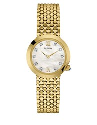 Bulova Diamond Analog Bracelet Watch
