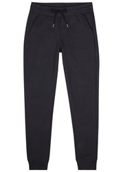 Moncler Navy Cotton Jogging Trousers