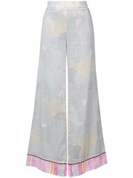 Lemlem Wide Leg Trousers White