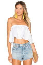 Faithfull The Brand Suns Out Top White