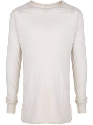 Rick Owens Ls Level Long Sleeved Top 60