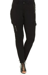 City Chic Plus Size Women's 'Trek Time' Skinny Cargo Pants
