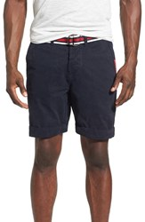 Superdry Men's 'International' Belted Chino Shorts Legion Blue