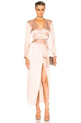 Theperfext Fwrd Exclusive Elyse Wrap Dress In Pink