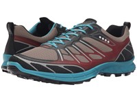 Ecco Biom Trail Sport Black Warm Grey Pagoda Blue Men's Running Shoes Gray