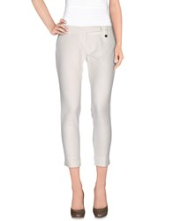 Mangano Trousers Casual Trousers Women Ivory