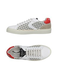 Voile Blanche Sneakers Red