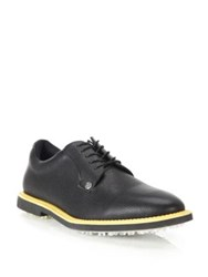 G Fore Striped Gallivanter Lace Up Shoes Onyx Patriot