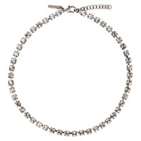 Christopher Kane Silver Cup Chain Choker