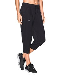 Under Armour Tech Moisture Wicking Capri Pants Black