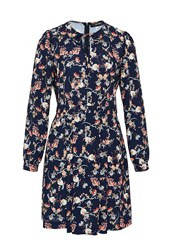 Hallhuber Floral Print Dress Multi Coloured Multi Coloured