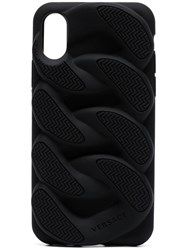 Versace Chain Reaction Iphone X Phone Cover Black