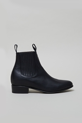 Maxwell Snow Leather Chelsea Boots Black