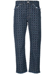 Sonia Rykiel Denim Boyfriend Trousers Blue
