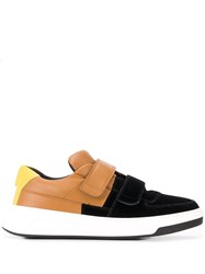 Acne Studios Perey Flocked Touch Strap Sneakers 60