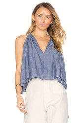 Apiece Apart Galisteo Top Blue