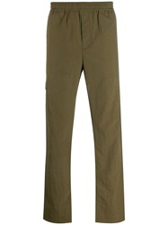 Norse Projects Classic Straight Leg Trousers Green