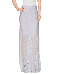 Miguelina Skirts Long Skirts Women White