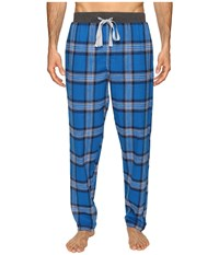 Kenneth Cole Reaction Open Bottom Pants Limonge Men's Pajama Blue