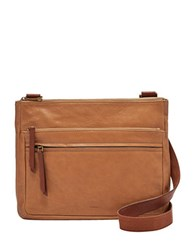 Fossil Corey Leather Crossbody Bag Camel