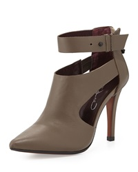 Report Signature Deshah Cutout Ankle Bootie Taupe