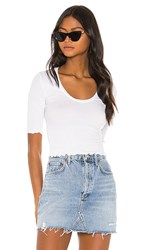 Free People Up All Night Top In White.