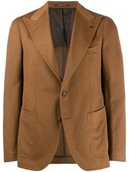 Tagliatore Classic Slim Fit Blazer Brown