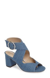 Charles By Charles David Women's Kami Sandal Light Blue Denim