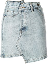 Haculla Denim Mini Skirt Blue