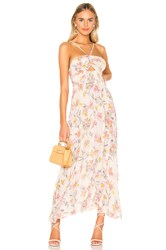 Free People One Step Ahead Maxi Dress White
