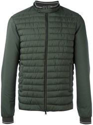 Herno Zip Up Padded Jacket Green