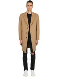 Palto Roberto Wool And Cashmere Coat Camel