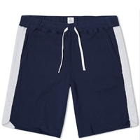 Head Porter Plus Panel Sweat Short Navy