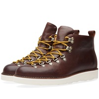Fracap M120 Cristy Vibram Sole Scarponcino Boot Dark Brown